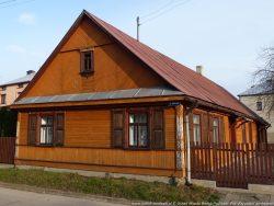 ilustracja przedstawia dom przy ulicy Dubicze 20