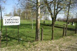 ilustracja przedstawia cmentarz żydowski
