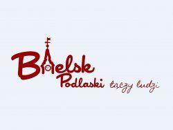 """Logo """"Bielsk Podlaski łączy ludzi"""""""