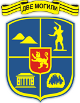 Herb miasta Dwe Mogili w Bułgarii