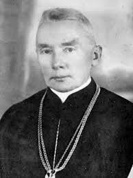 ilustracja przedstawia Błogosławionego księdza Antoniego Besztę-Borowskiego