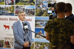 wręczenie nagrody Urzędowi Miasta Bielsk Podlaski